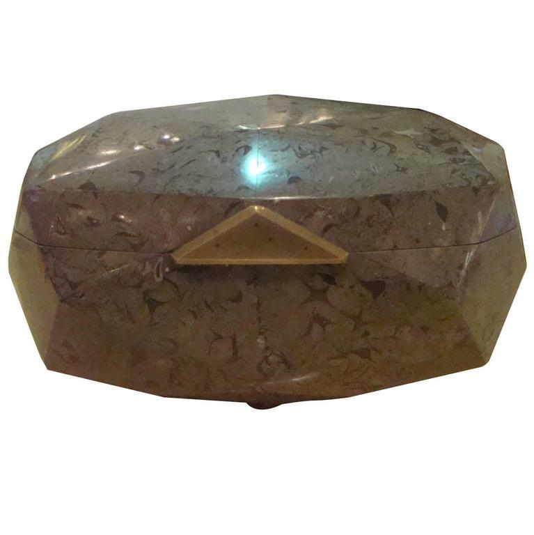 Maitland Smith Stone Box