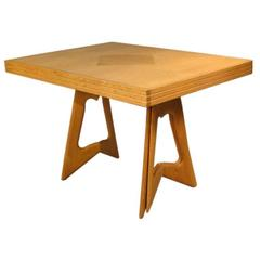 Guillerme & Chambron, Extendable Dining Table in Solid Oak, Edition Votre Maison