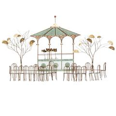 Bandstand Wall Hanging by C. Jeré for Artisan House - ON SALE
