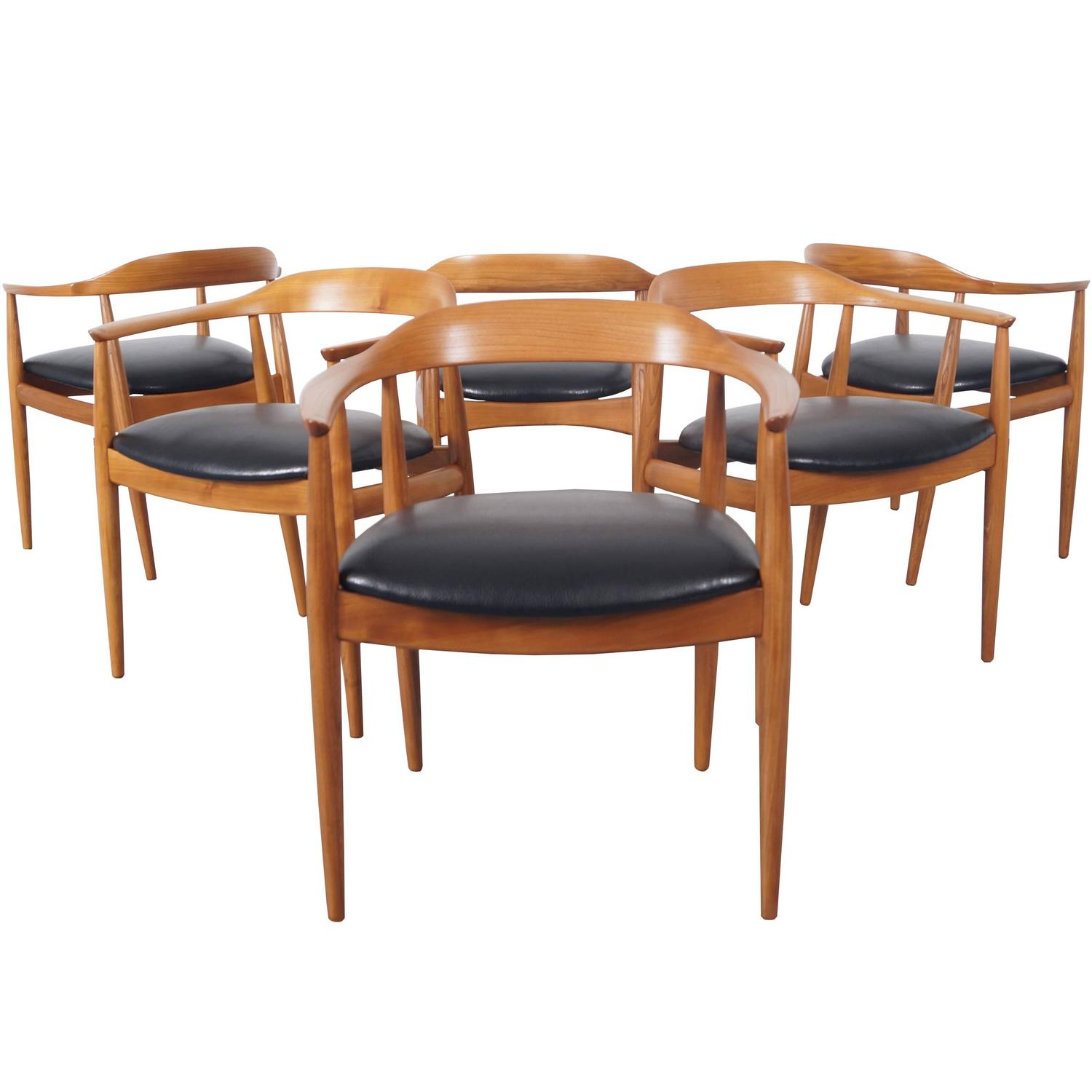 danish modern dining chairs by niels eilersen danish modern noho 10