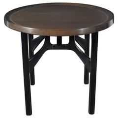 Mid-Century Modernist Occasional/Drinks Table in Walnut by Edmond Spence