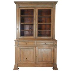 19th Century French Pine Cabinet