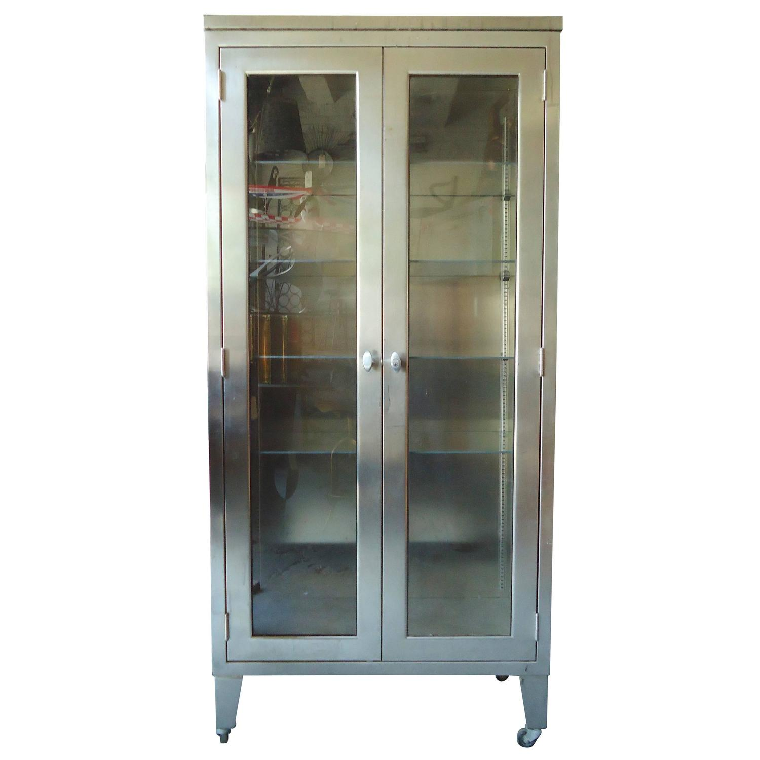 Tall Medical Storage Cabinet For Sale At 1stdibs