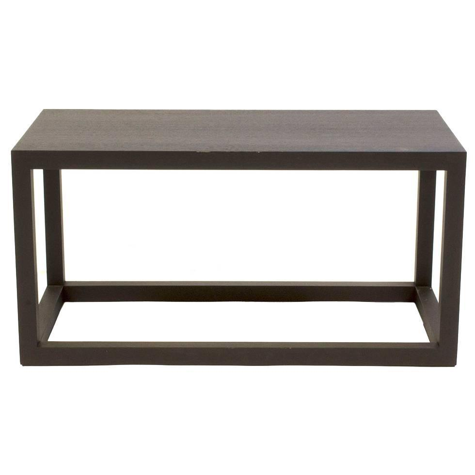 Cassina oak note small low side table by piero lissoni for Low end table