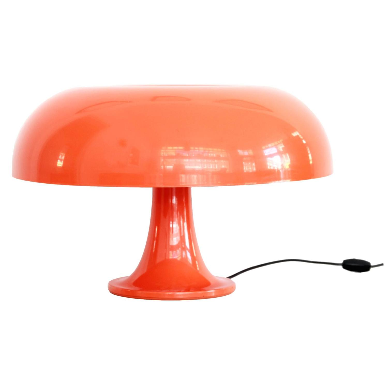 1st edition nesso table lamp from giancarlo mattioli for artemide italy 1960s for sale at 1stdibs. Black Bedroom Furniture Sets. Home Design Ideas