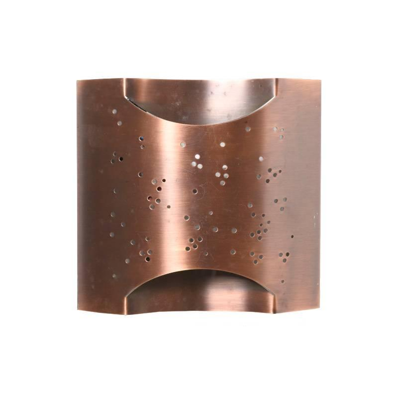 Handmade Copper Wall Sconces : Handcrafted