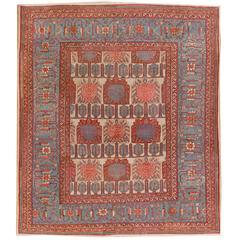 Antique Persian Bakshayesh, circa 1880 Rug