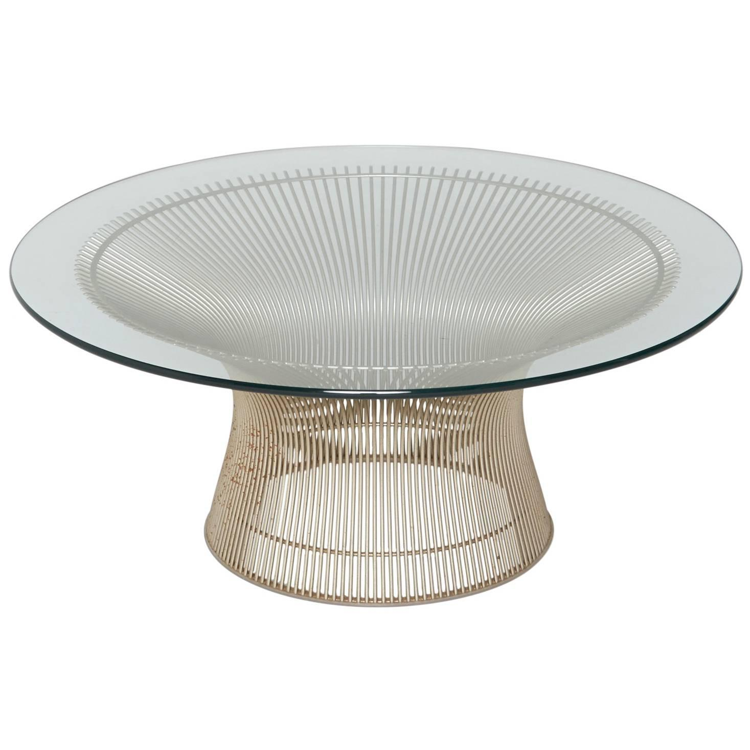 Warren Platner for Knoll International Coffee or Cocktail Table in