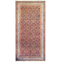 "Antique Persian Baktiari Carpet/Runner/Galley Size 5' x 10'8"""