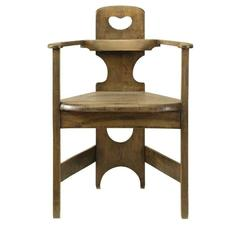 A Rare and Important Chair in Furniture History by Richard Riemerschmid