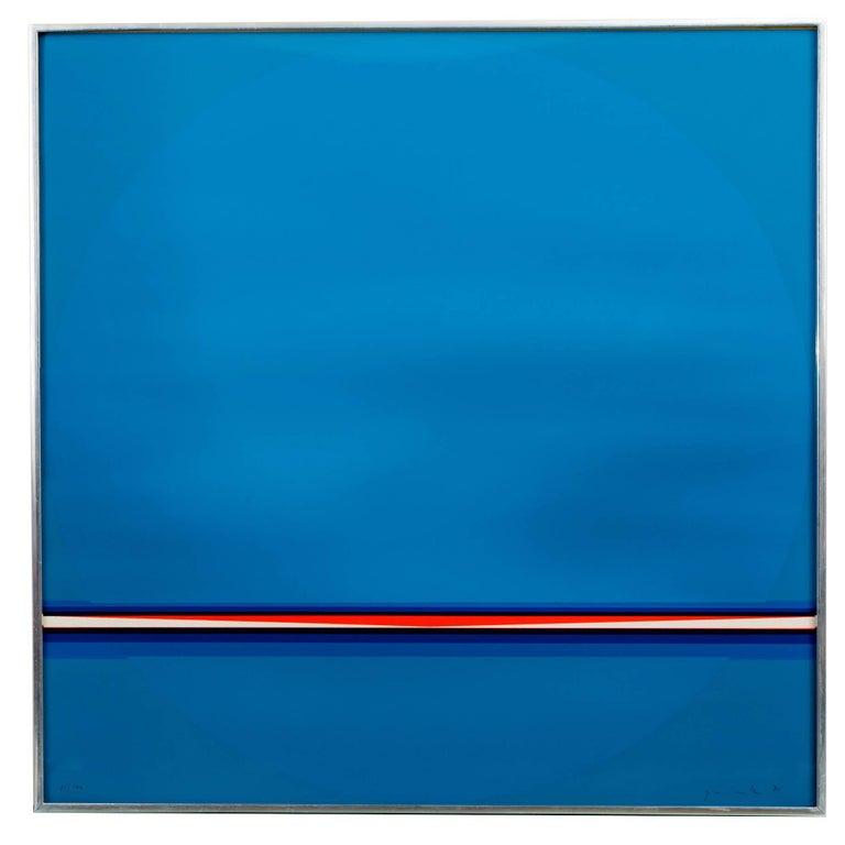 "Lothar Quinte ""Sonnenzyklus Kalender"" Abstract Silkscreen, circa 1970 For Sale"