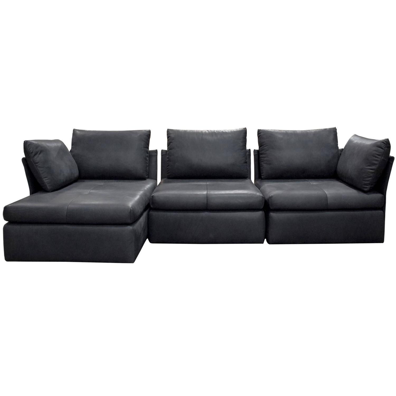 DS 19 de Sede Sofa Designed by Christian Werner in Black Natural