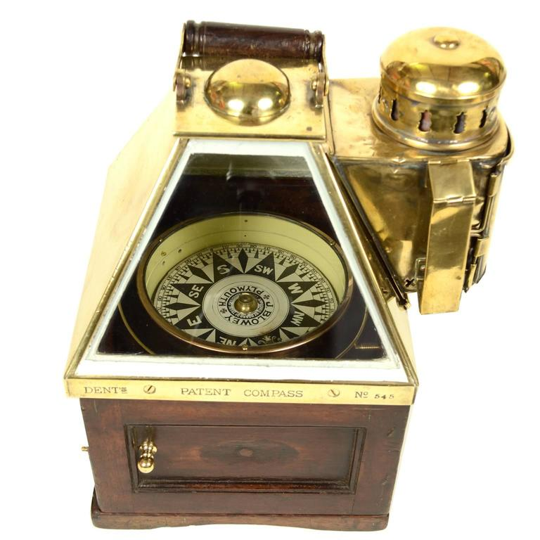 Rare and Elegant Binnacle Compass