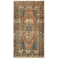 Antique Turkish Oushak Gallery Rug