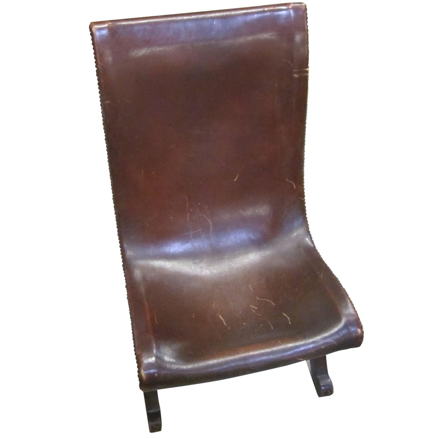 Mid Century Valenti Leather Chairs Spain At 1stdibs