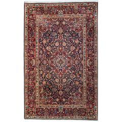 Antique Persian Rugs, Kashan Rug