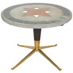 1950s Italian Cocktail Table Attributed to Melchiorre Bega