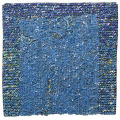 """Orange Drips"" Mosaic by Toyoharu Kii"