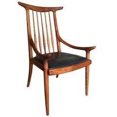 Important Sam Maloof Horn Back Chair