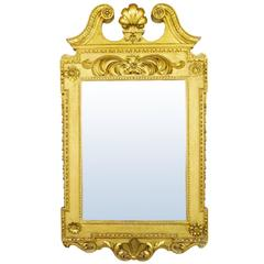 George II Style Gilt Mirror in the Manner of William Kent