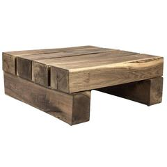 Shimna Beam Coffee Table in Walnut