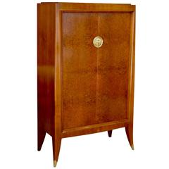 Very Fine Storage Cabinet of an Original Office Duo by Alfred Porteneuve