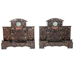 Pair of Early 20th Century Chinese Ancestral Shrines