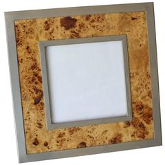 Willy Rizzo Burl Wood Frame