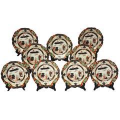 Set of Nine Mason's Patent Ironstone China