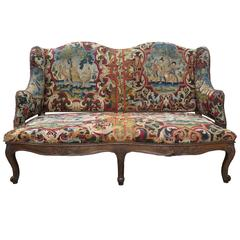 Perfect 18th Century French Tapestry Sofa