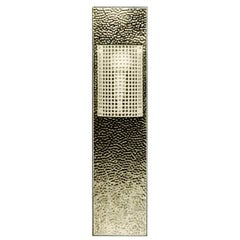 Josef Hoffmann Wiener Werkstätte Brass Wall Light  Woka Lamps