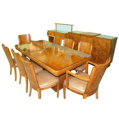 Original Art Deco Hille Dining Room Suite