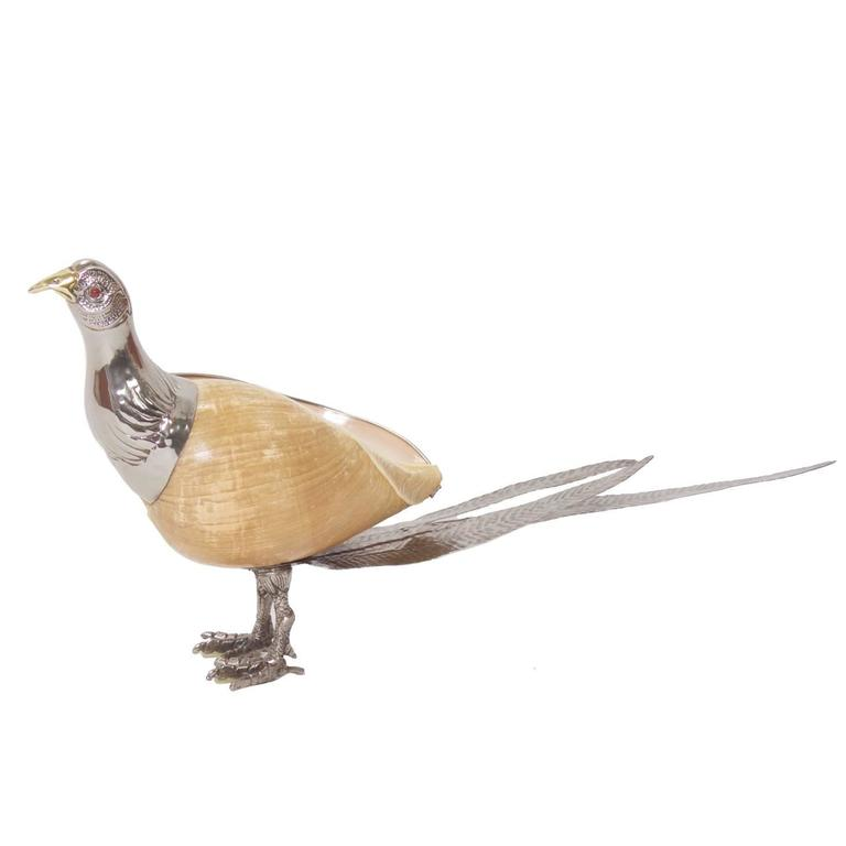 Mid-Century Binazzi Style Bird Sculpture For Sale