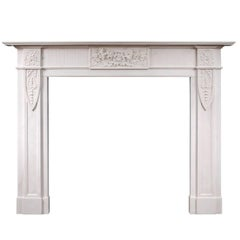 English Marble Fireplace in the Georgian Style