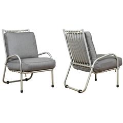 Pair of Warren McArthur Aluminum Chairs