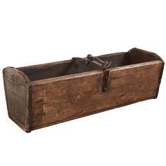 Wood and Iron Hanging Box