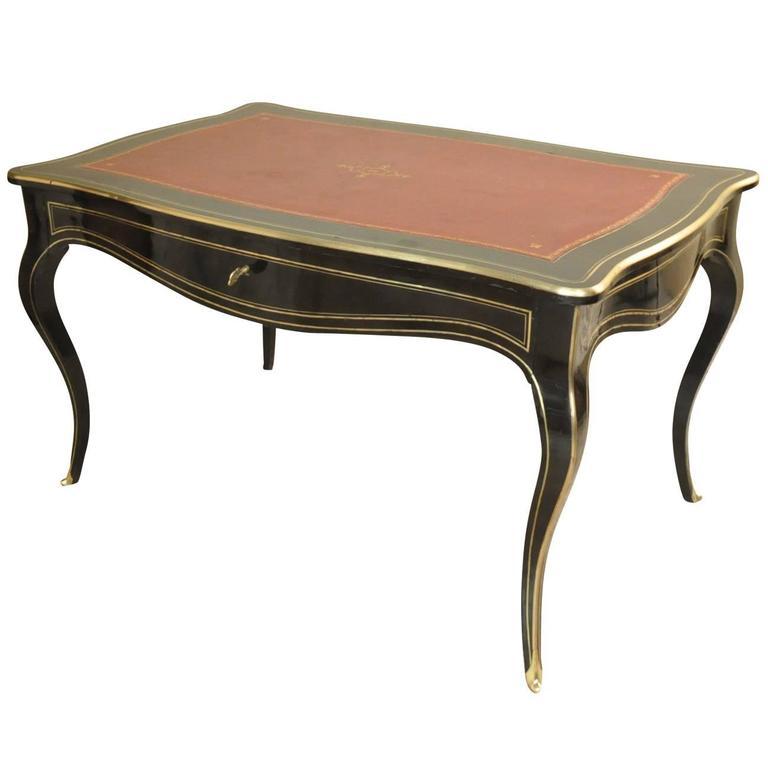 French Napoleon III Bureau Plat - Desk