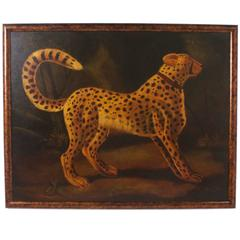 Oil Painting of a Cheetah by Reginald Baxter