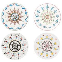 Set of Four Dessert Play Plates Story 2