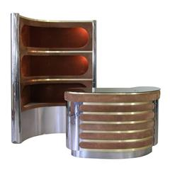 Two-Piece Bar in the Style of Mr. Rizzo, Italy 1960-1970