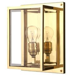 Early 20th Century Josef Hoffmann Jugendstil Wall Light by Wok Lamps Vienna