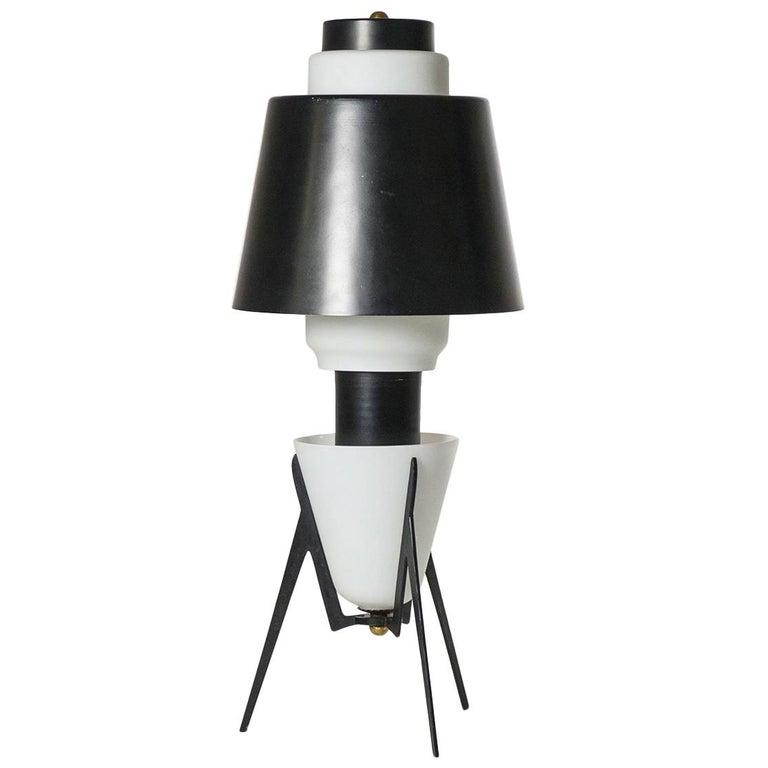 Large Italian Sputnik Table Lamp, 1950s