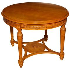 A Swedish Gustavian Center  Table