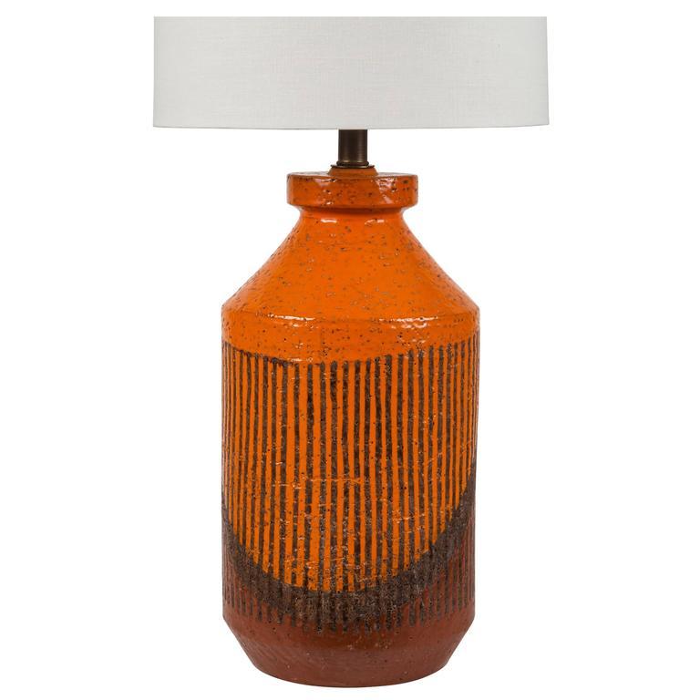 Ceramic Hand Glazed Studio Table Lamp by Bitossi