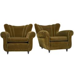 Italian Armchairs in the Manner of Paolo Buffa