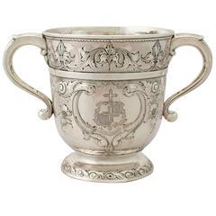 1710s Antique George I Britannia Standard Silver Cup