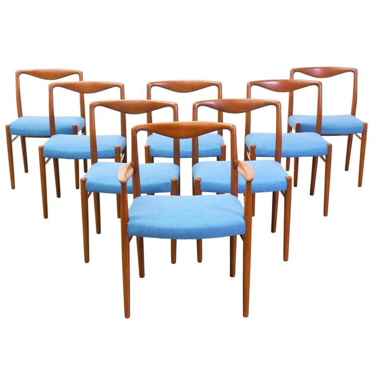 Kai Lyngfeldt Larsen Teak Dining Chairs for Soren Willadsen