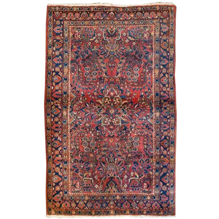 Classic Early 20th Century Sarouk Rug