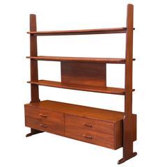 Stewart MacDougall & Kipp Stewart Free-Standing Bookshelf Unit for Glenn of Cali