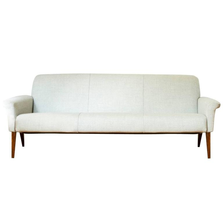 Moroso Gentry Sofa Osbourne, Hans Olsen for C.S Mobler 1960s, Three-Seat ...